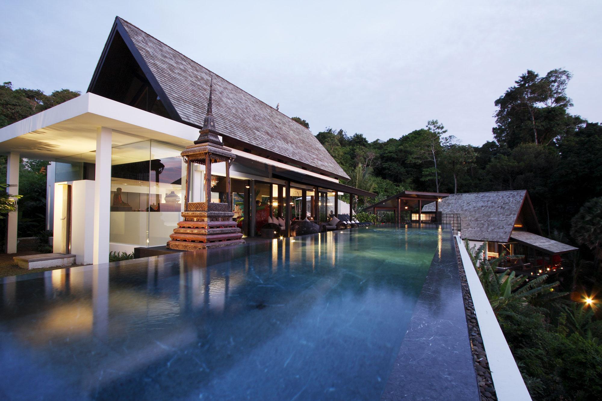 Вилла Yin на острове Пхукет, Таиланд
