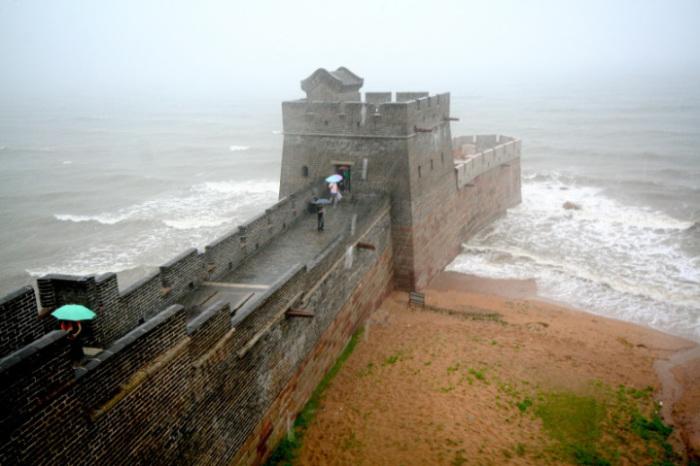 Начало Великой китайской стены. Вид Марса с Земли и Земли с Марса