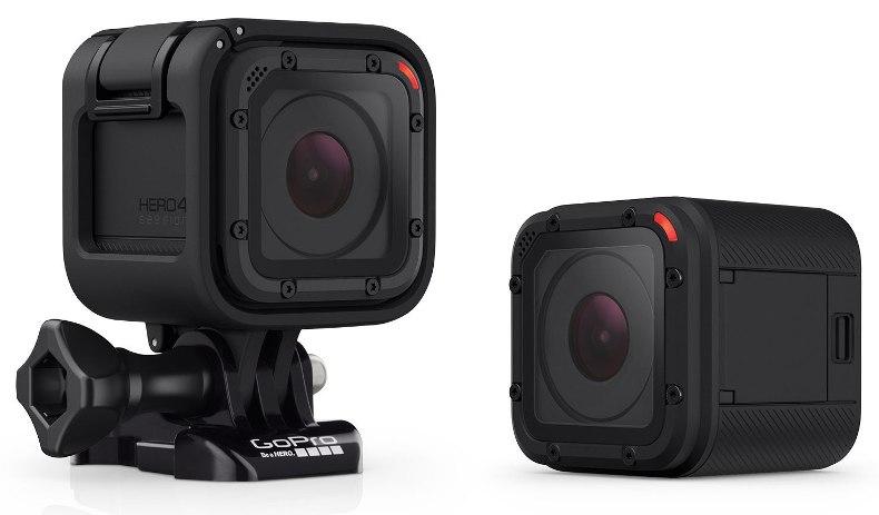 GoPro Hero 4 Session  Камера Hero 4 Session заметно отличается от своих «сестер» Это черный пл