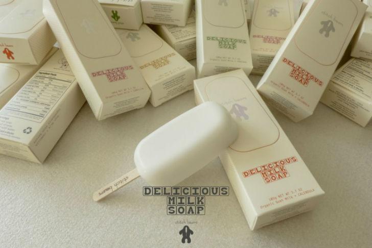 Команда Ahhaproject придумала оригинальный дизайн для мыла. Главное, не пробовать на вкус. Печеньки