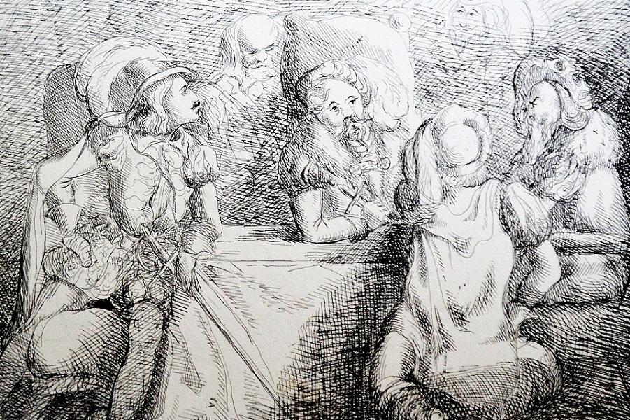 Королева Виктория и принц Альберт, художники-любители
