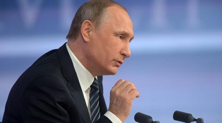 Партия «Единая Россия» воспользуется звуком В. Путина для предвыборной агитации