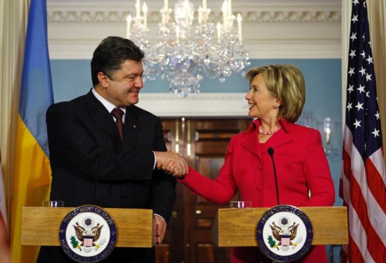 Клинтон хочет увидеться сПорошенко врамках Генассамблеи ООН