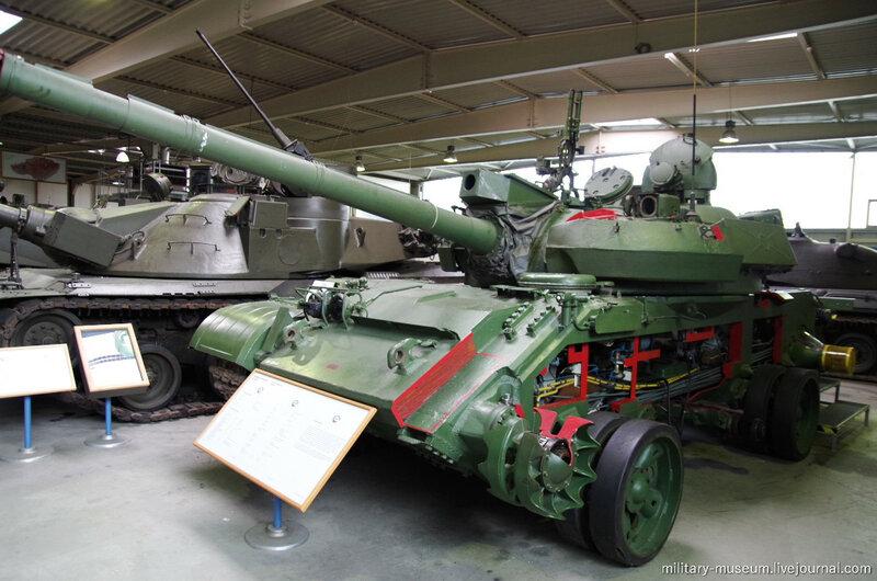 Танки в Военном музее Кобленца
