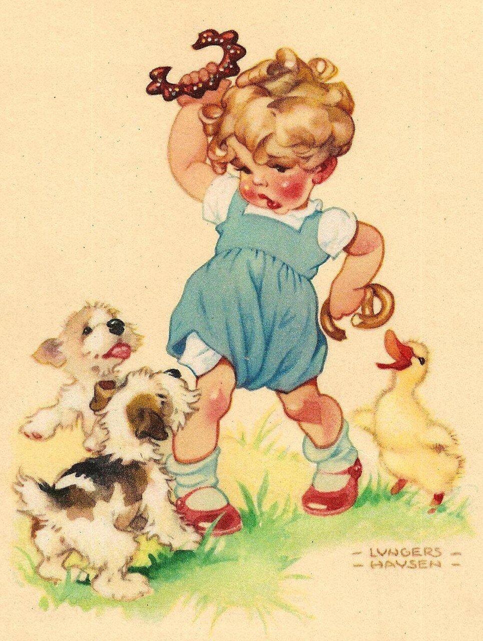 Старинные открытки с вышивкой