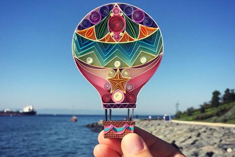 Сена Руна: потрясающий квиллинг— поделки из разноцветной бумаги