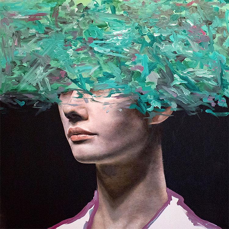 Expressive Oil Paintings by Andrea Castro Andrea Castro is a talented Spanish artist who creates vib