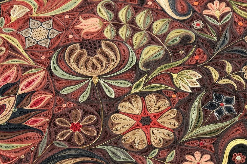 Jardin , detail.