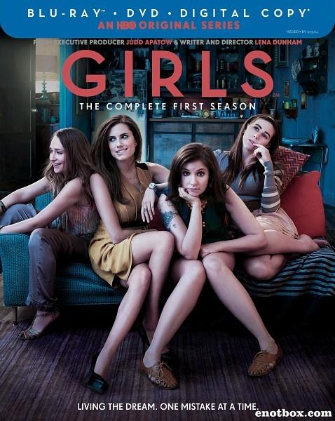Девочки (Девчонки) (1-6 сезон: 62 серий из 62) / Girls / 2012-2017 / ПМ (Amedia) / BDRip, HDTVRip