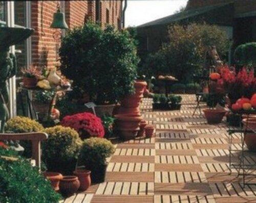 Садовый паркет