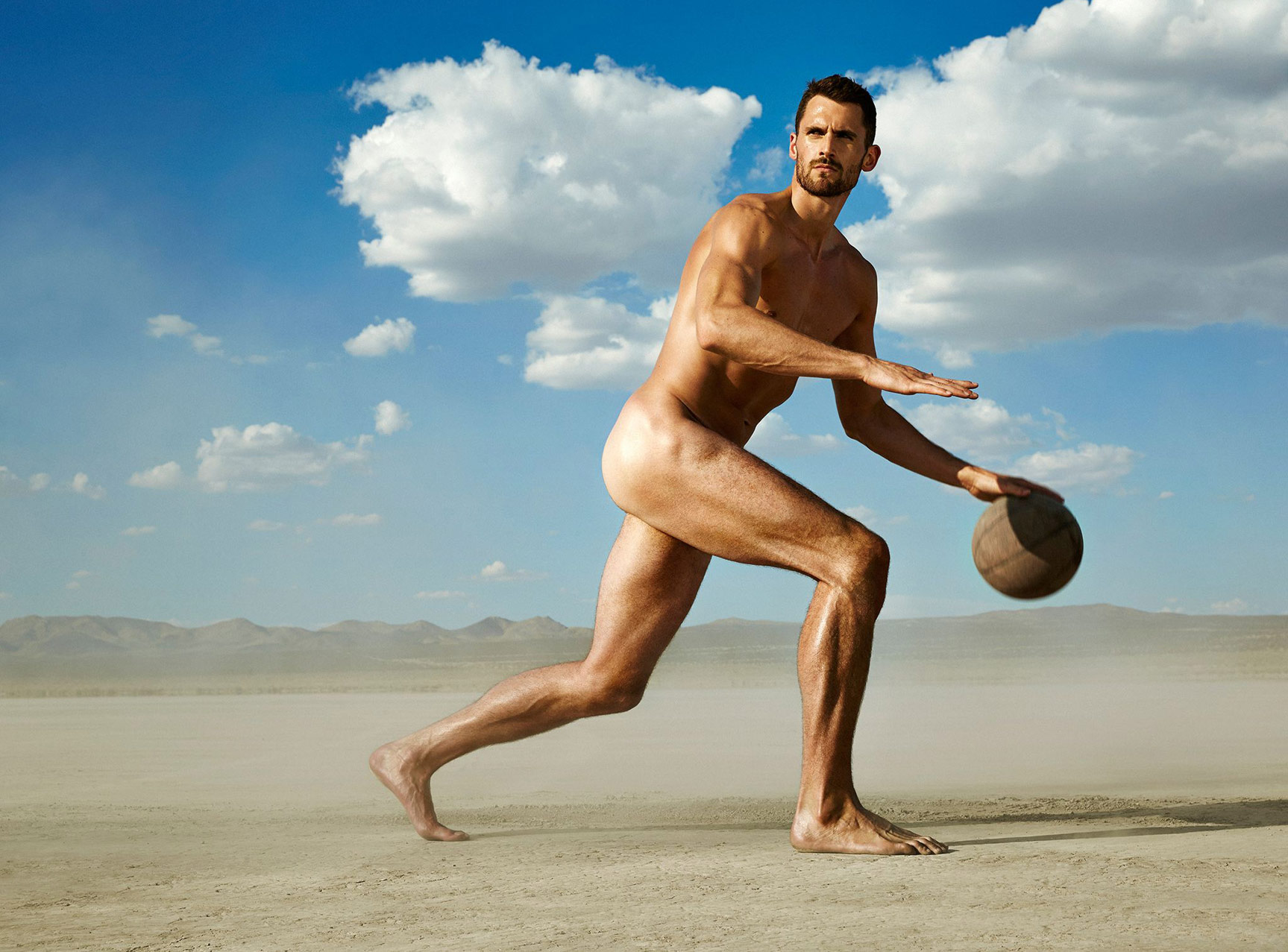 ESPN Magazine The Body Issue 2015 - Kevin Love / Кевин Лав - Культ тела журнала ESPN