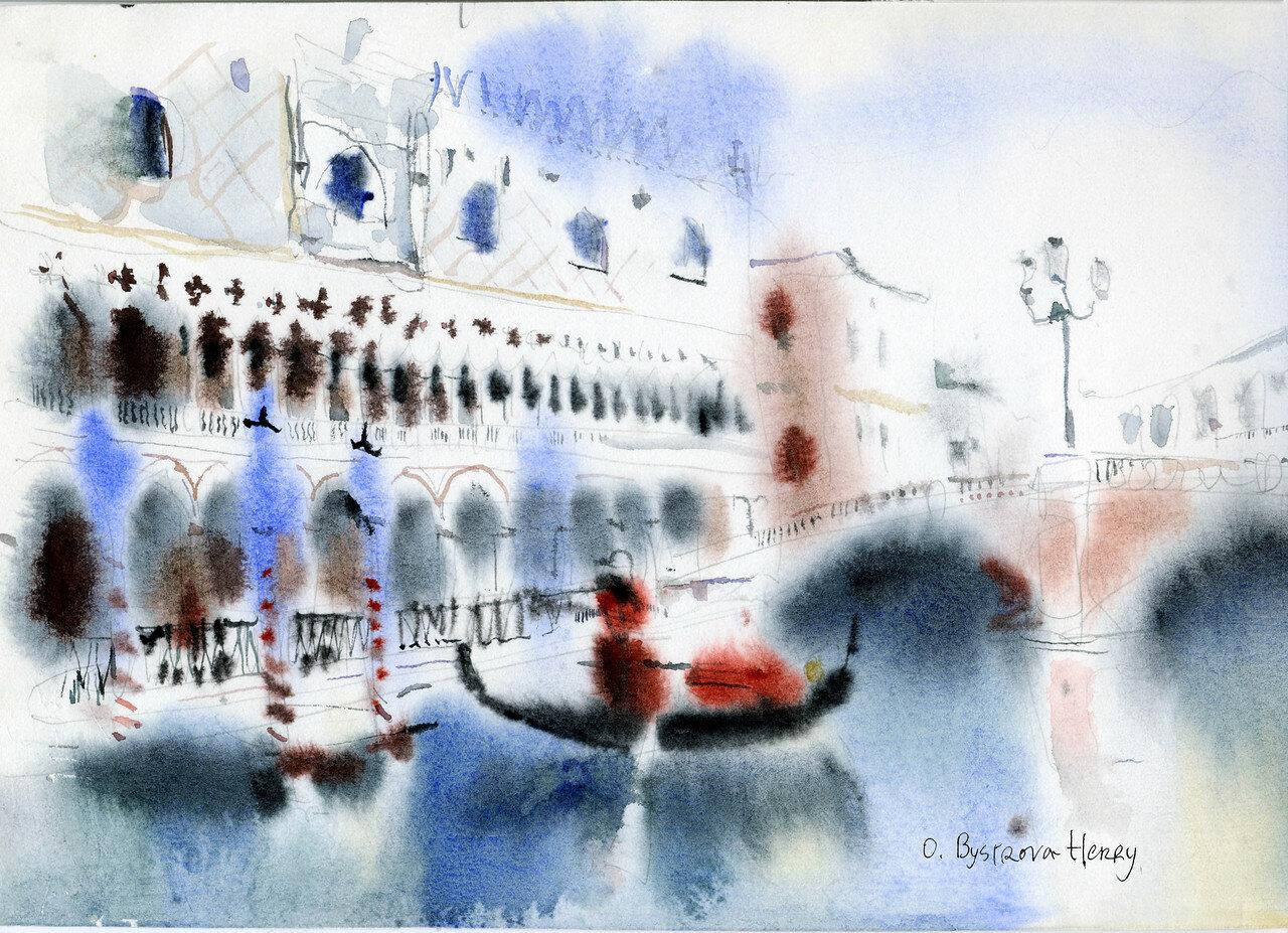 Venise bleu