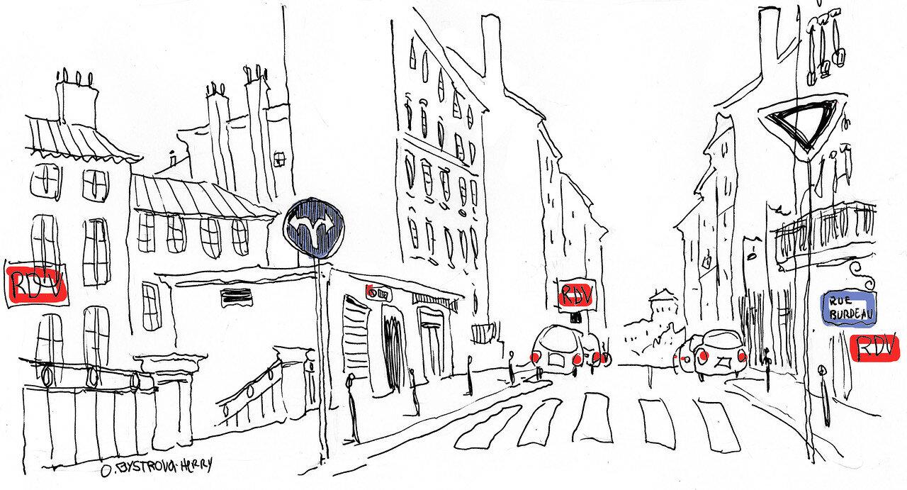 1 Lyon, Rue Burdeau