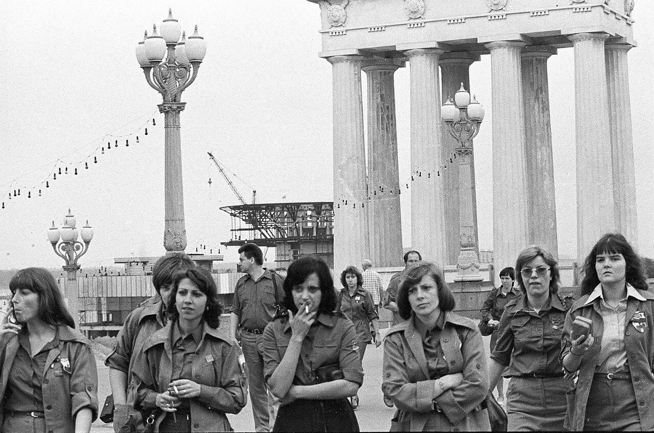 Участники Фестиваля из ГДР