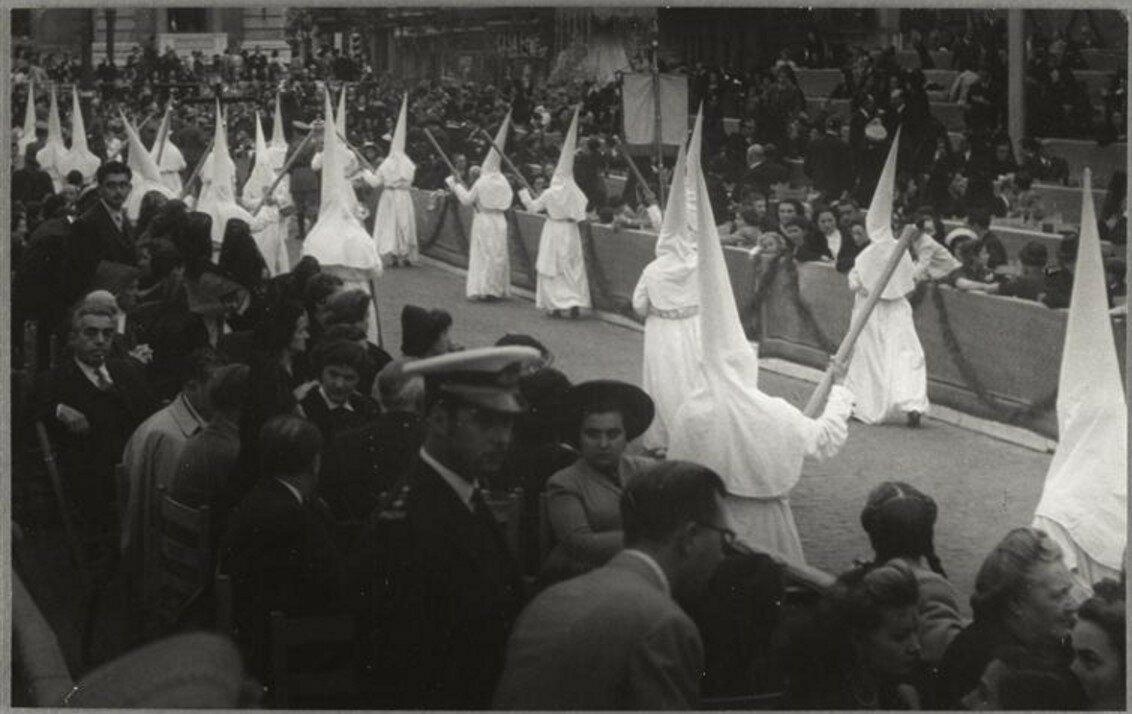 1950. Страстная пятница в Севилье