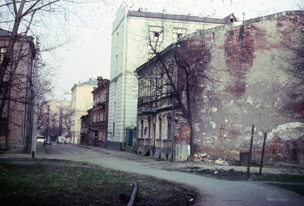 1980. Октябрьский переулок (автор Юрий Славин)