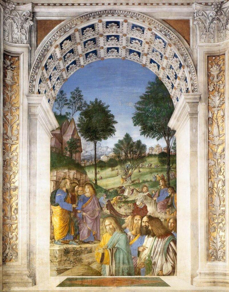 Melozzo_da_Forlì_-_Christ's_Entry_into_Jerusalem_-_WGA14788 1477-82.jpg