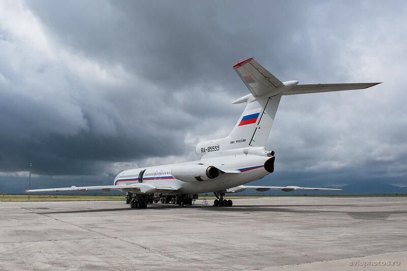 Туполев Ту-154Б-2 (RA-85555) ВКС России 005_D702066