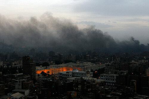 Пожар в Каире нанес ущерб в 4,5 миллиона долларов