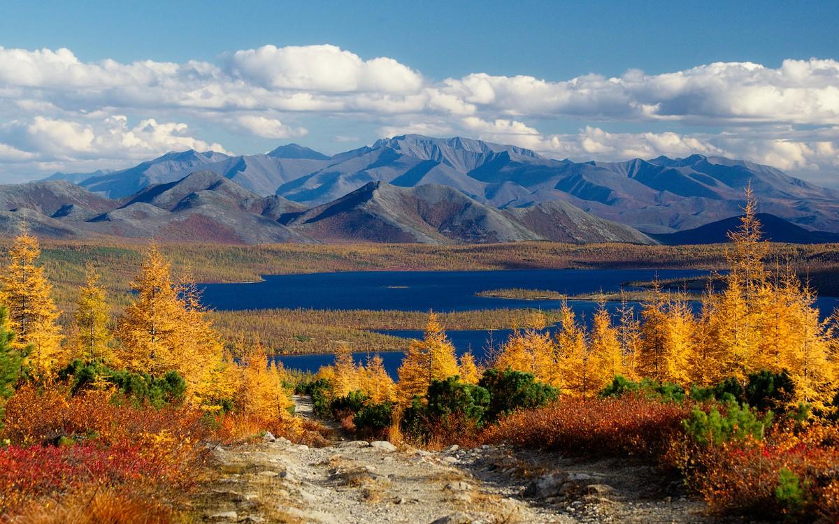 Магаданские красоты на снимках Алексея Харитонова