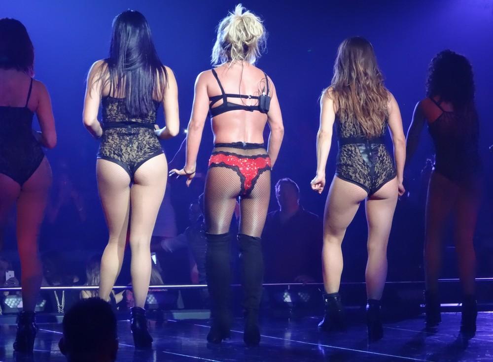 Бритни Спирс на концерте в Лас-Вегасе