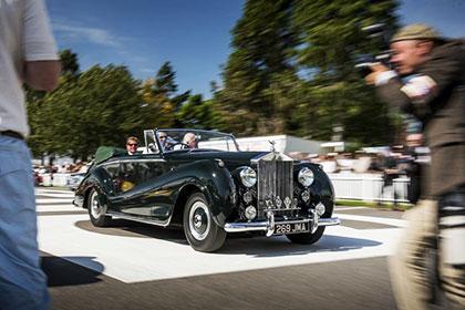 Rolls-Royce покажет редкие ретрокары