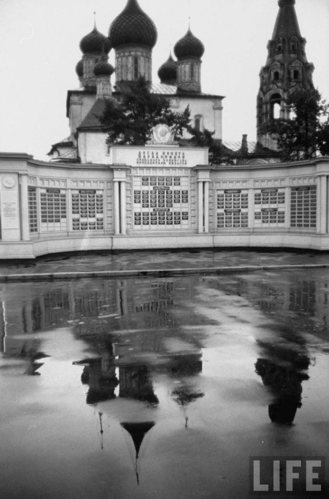 Путешествие по Волге. 1958 год