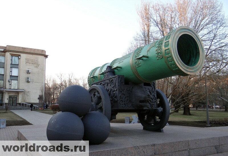 Донецк Царь-пушка