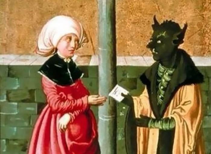 Средневековая реакция на современные ситуации. Старинные картины и смешные подписи