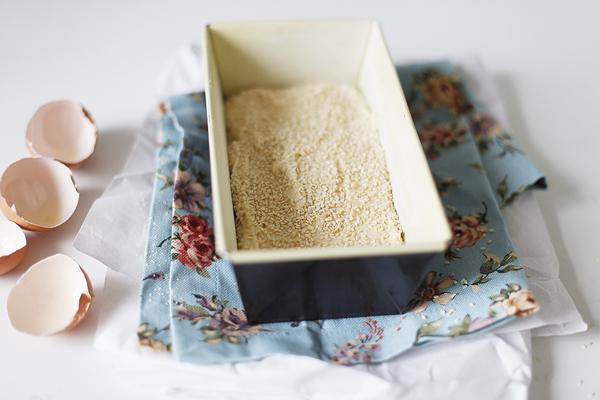 Кунжутный кекс   вкусные рецепты
