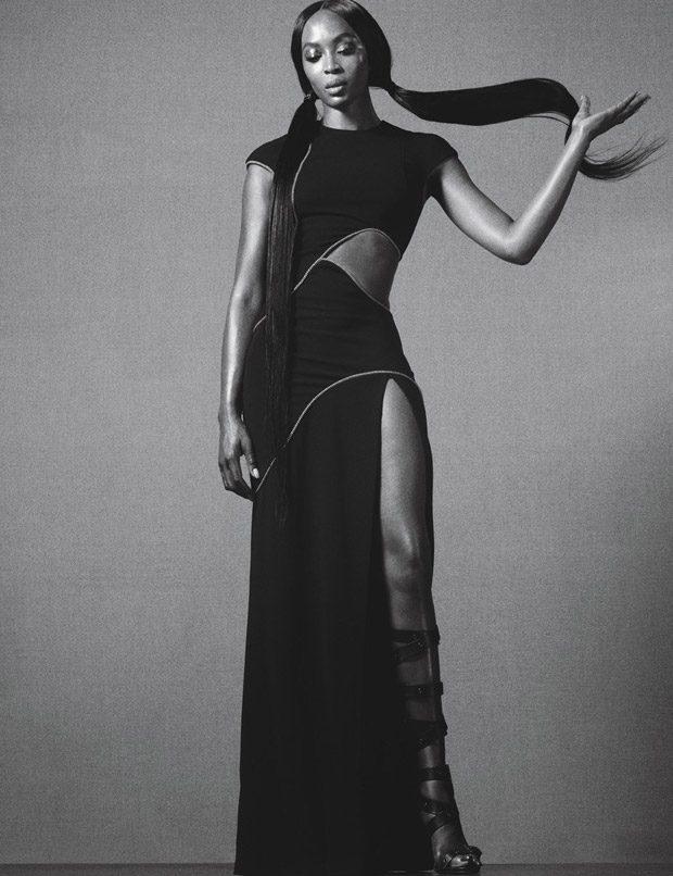 Наоми Кэмпбелл в W Magazine