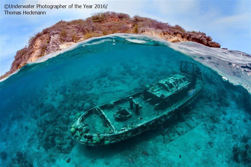 6. Томас Хекманн стал победителем в категории «Кораблекрушения» за фото в Кюрасао. «Я не мог погрузи
