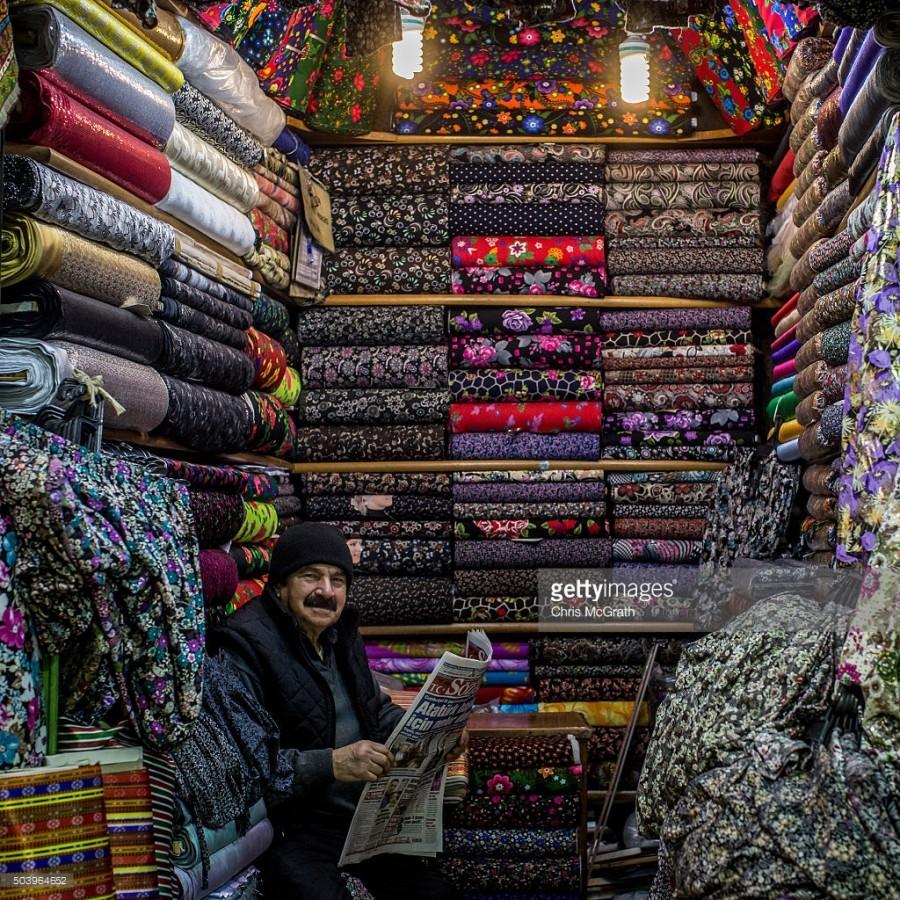 6. У Кенана Келмаза можно купить различные ткани.