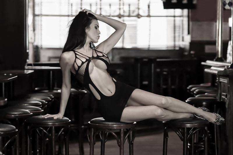 Красивые девушки в белье от Kenneth Lysgaard