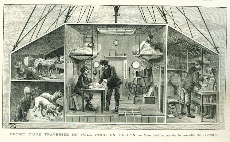 Когда парижское общество прознало о тайном убежище Эйфеля, все начали умолять его хотя бы загля