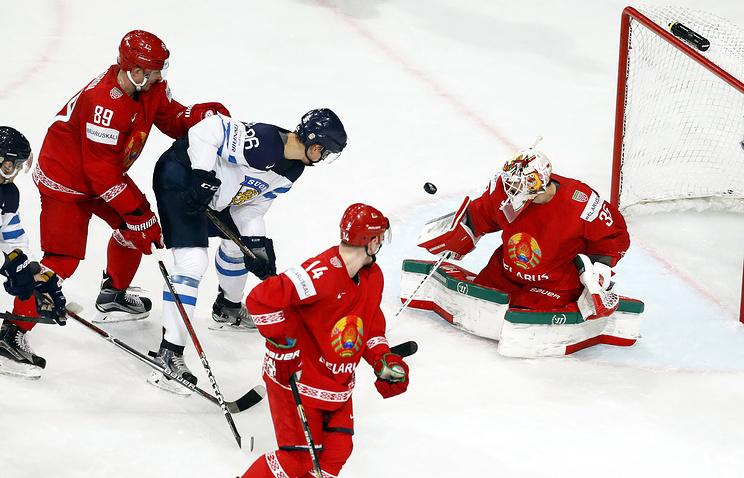 Финляндия— Беларусь 05.05.2017, счет: результат матча, видео
