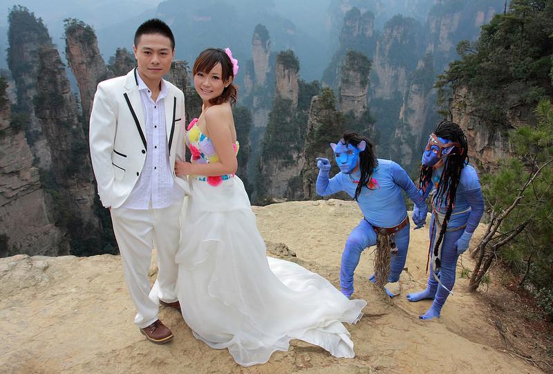 экзотическая свадьба