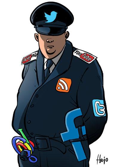 твиторный полицейский