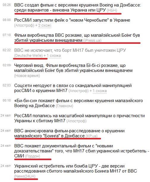 """BBC опровергает ложь российских СМИ по поводу фильма о сбитом """"Боинге"""": """"Есть убедительные доказательства, что самолет упал из-за удара ракеты земля-воздух"""" - Цензор.НЕТ 5456"""