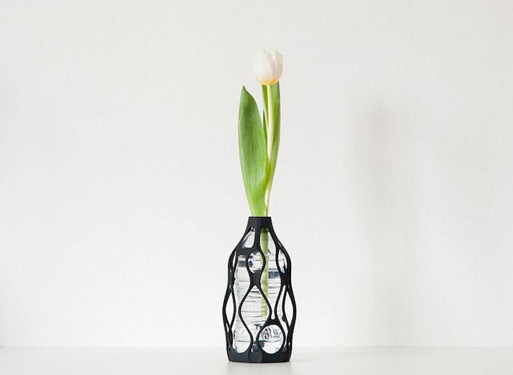 Sculptural 3D Printed Vases to Reuse Your Old Bottles