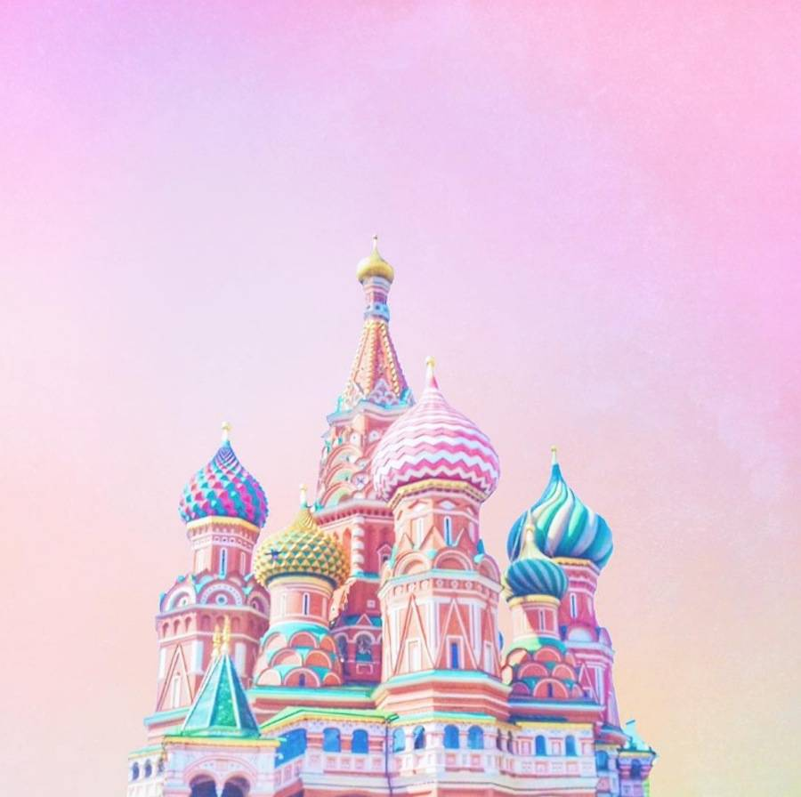 Candy-Colored & Pearly Pieces of Architecture (19 pics)