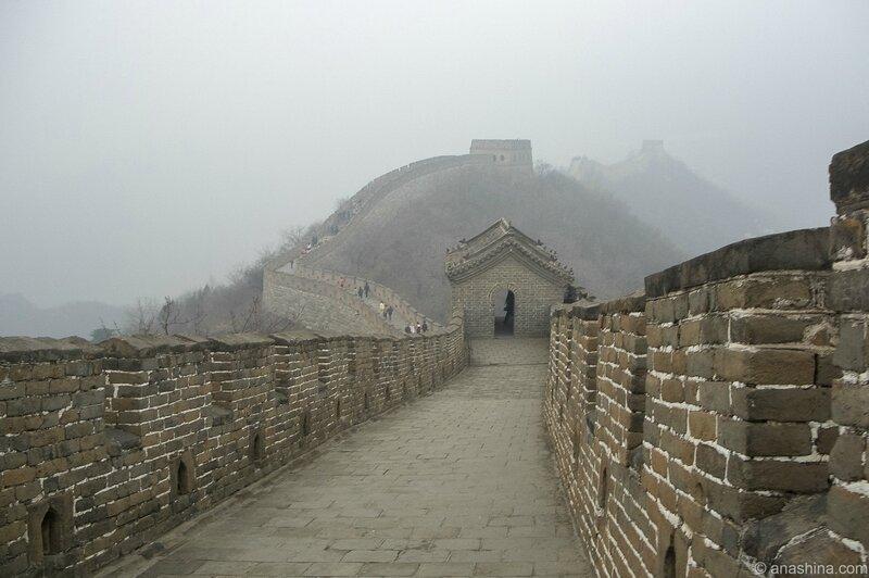 На Великой Китайской Стене. Мутяньюй