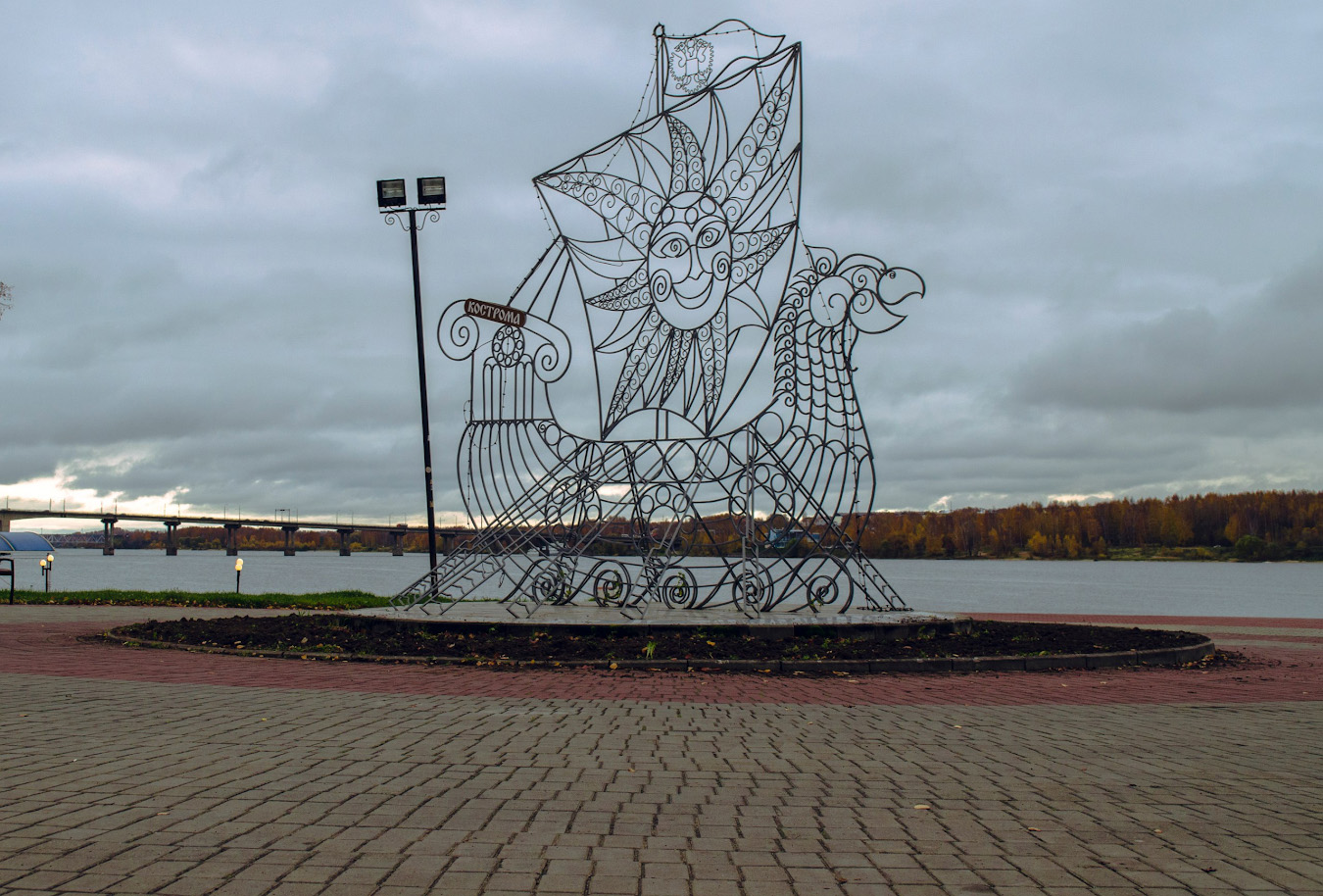 25.Кострома - славный город с богатой историей.