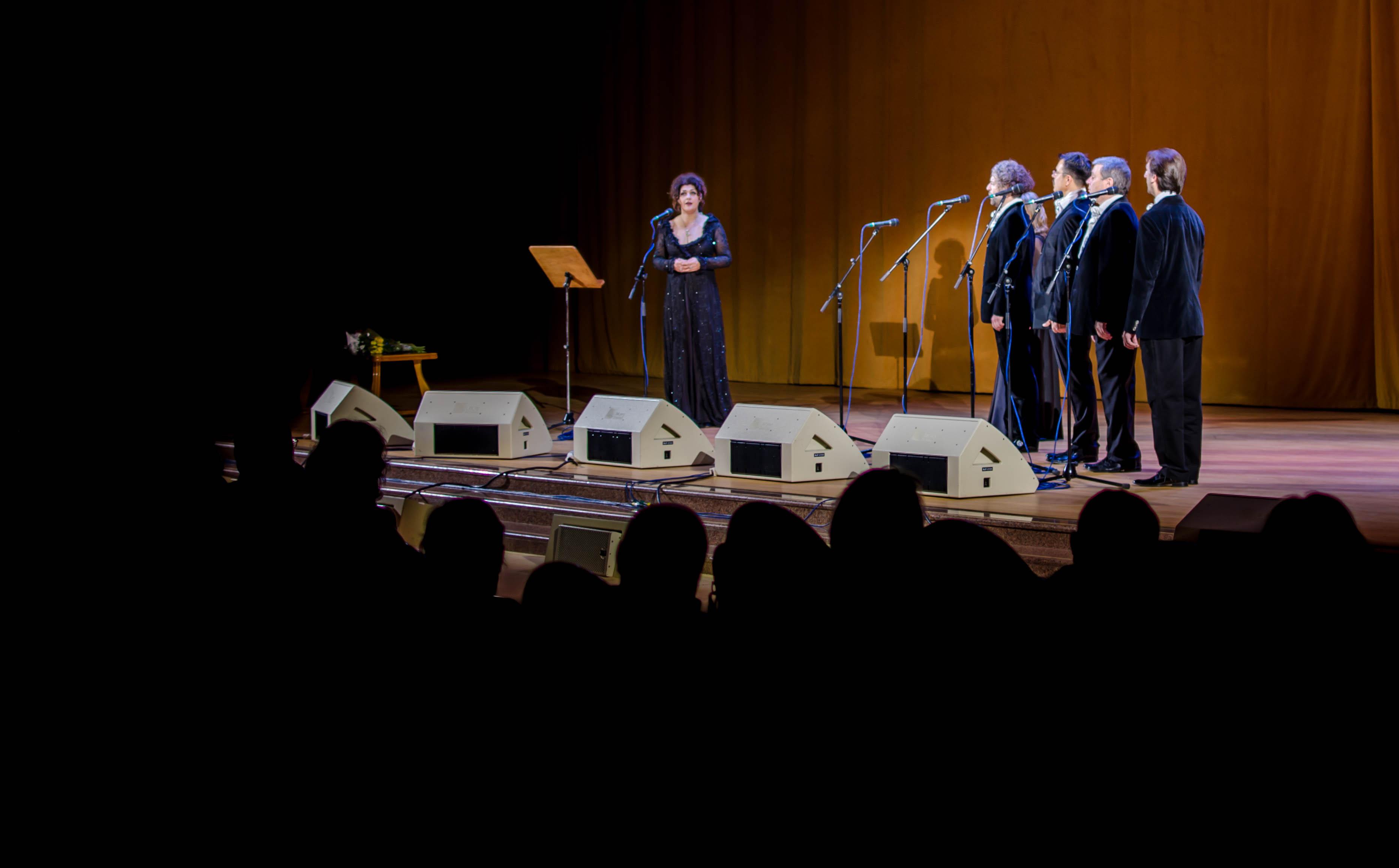 В Москве прошел концерт сербской исполнительницы Дивны Любоевич