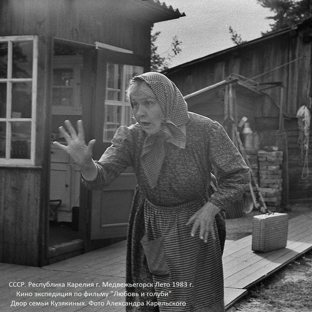 """К/К """"Любовь и голуби"""" 1983 г."""