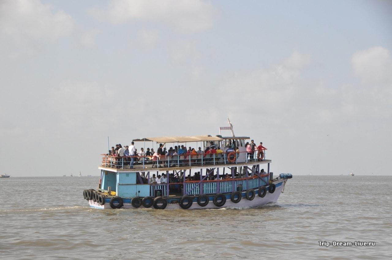 Кораблик до острова Элефанта