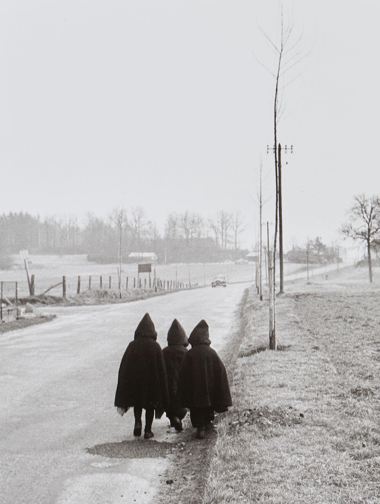 1954. На дороге. Лотарингия