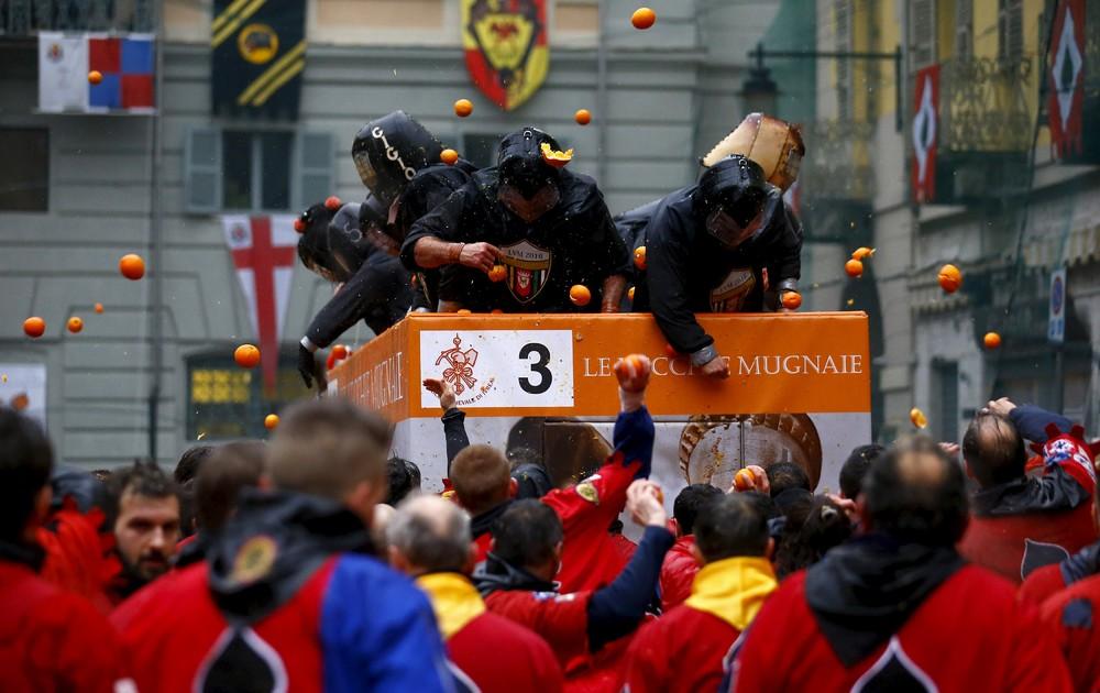 Carnival Battle в Северной Италии