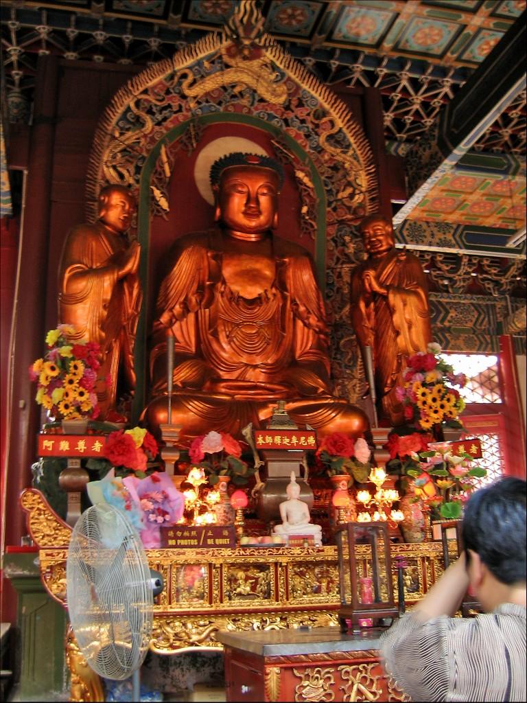 Будда Шакьямуни, монастырь Гуйюань
