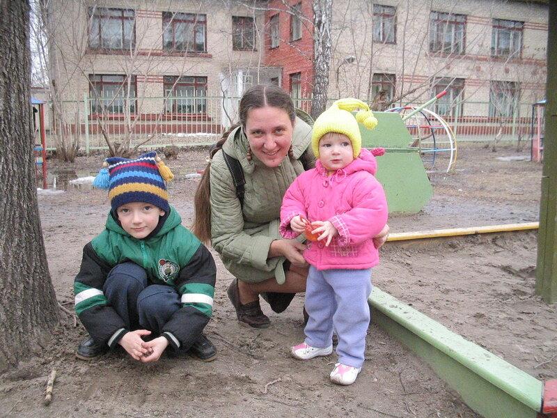 С племянниками